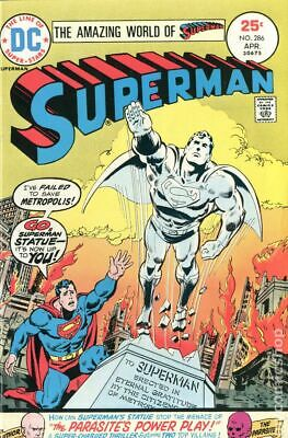 1st Series Superman 4.5 Stock Image Low Grade #290 1975 VG