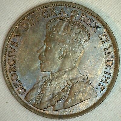 1913 Copper Canadian Large Cent Coin 1-Cent Canada Unc K14