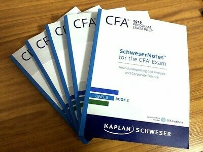 2019 CFA LEVEL 1 Kaplan Schweser Notes (Study Notes, Exams and Quick