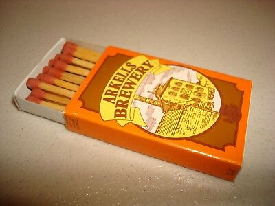 Rare Vintage Foreign Match Box Matches Arkells Brewery Swindon UK Original!