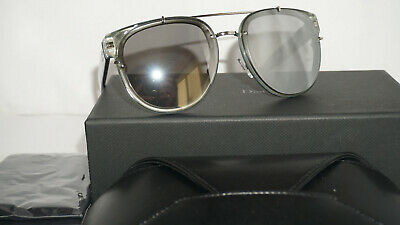21cbe31634 Christian Dior Sunglasses New Blacktie Crystal Silver Mirror 143S PRN 56 15  140