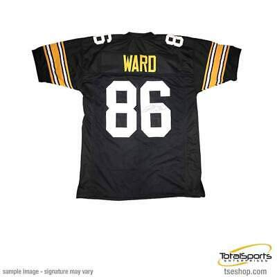 hot sale online 3433d baf1f HINES WARD SIGNED Autographed Pittsburgh Steelers Bumblebee ...
