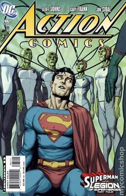 Action Comics (DC) #861A 2008 Frank Variant VF Stock Image