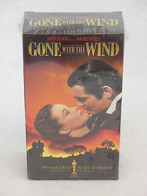 GONE WITH THE WIND 2 VHS Still SEALED in Factory Shrinkwrap