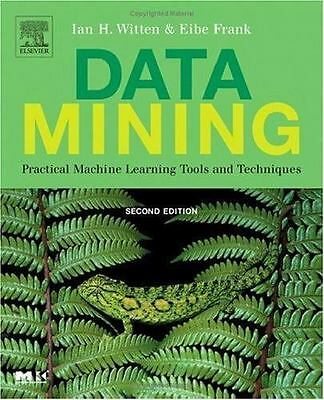 Data Mining: Practical Machine Learning Tools and Techniques, Second Edition (M
