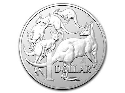 1 $ Dollar Mob of Roos Kangaroo Privy Merlion Australien 1 oz Silber 2019