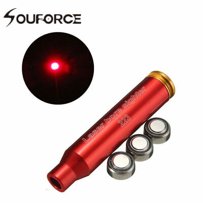 CAL .223 REM Boresight Boresighter For Hunting Cartridge Red Laser Bore Sighter