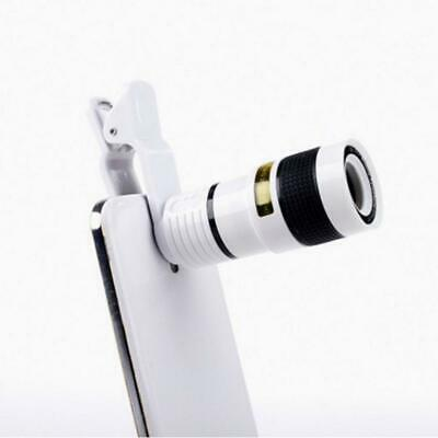HD Optical Zoom Clip on Camera Lens Phone Telescope For Universal Cell Phone