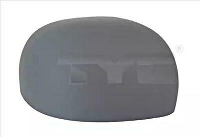TYC Outside Wing Mirror Cover O/S Fits FIAT Panda Van Box Hatchback 735516571