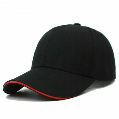 Women Baseball Caps For Men Snapback Plain Solid Color Gorras NEW