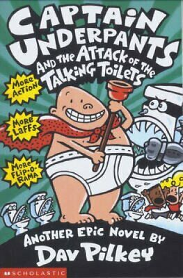Captain Underpants and the Attack of the Talking Toilets 9780439995443