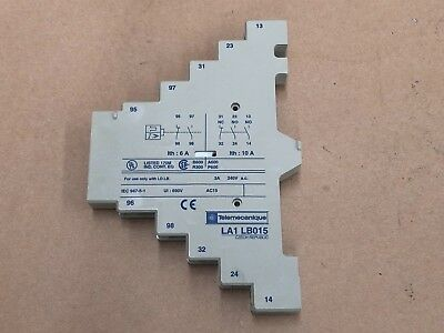 Telemecanique La1Lb015 Contact Auxiliary Block Schneider Electric