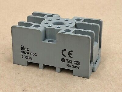 Idec Sr2P-05C -  Relay Socket, 8Pin, 10A, 300V