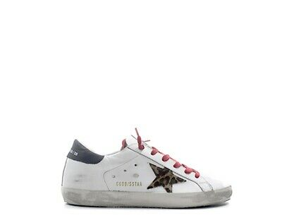 official photos 9092e bc685 SCARPE GOLDEN GOOSE Donna Sneakers Trendy BIANCO Pelle naturale G34WS590-M66