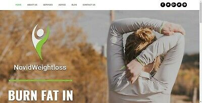 Ready Made Website for Sale - Weight Loss Website