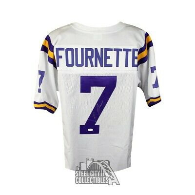 5d3ce81e2 LSU TIGERS JAMARCUS Russell #2 White Ncaa Football Jersey - Size 52 ...