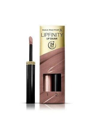 *Max Factor Lipfinity Lipstick Woman's 24HR - 190 Indulgent Boxed New*