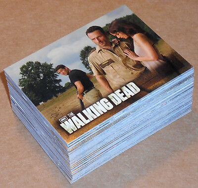 Walking Dead Temporada 2 ~ Completo 80-card Base Juego (Tarjetas, 2012)