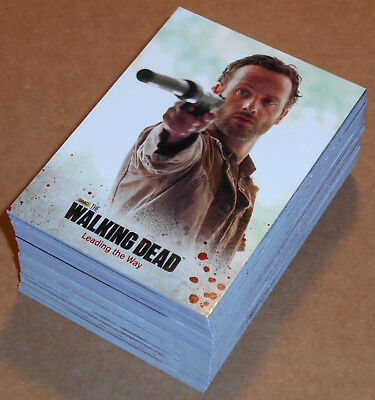 Walking Dead Season 3 Parte 1 ~ Completo 72-card Base Juego