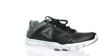 Reebok Womens Yourflex Trainette 10 Black Cross Training Shoes Size 10 (165712)