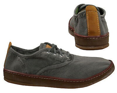 46ff53f65ea Timberland EarthKeepers Hookset Canvas Mens Lace Up Shoes Grey Low Top  5309A T4F