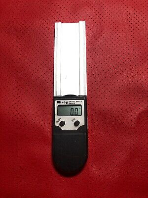 "Wixey WR410 8"" / 200mm Digital Protractor Angle Finder Bevel Magnetic Gauge"