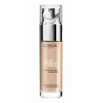 *L'OREAL TRUE MATCH SUPER-BLENDABLE FOUNDATION 30 ml - NEW*
