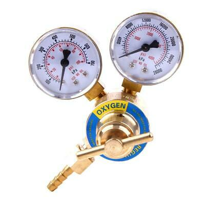 Rear Mount Oxy Oxygen Gas Welding Welder Regulator Pressure Gauge Victor Type