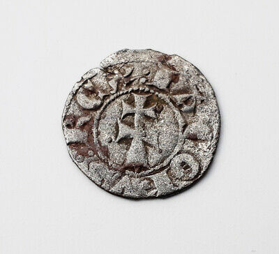 Silver Coin James I Ancient Medieval Templar Crusader - 12th century