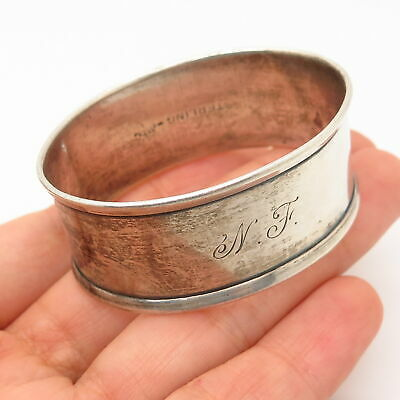 925 Sterling Silver Antique Webster Co. Napkin Ring