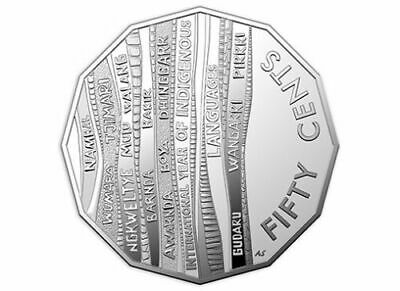 2019 50c International Year of Indigenous Languages - Single Coin