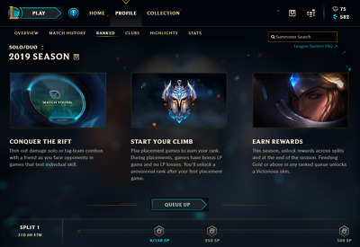 League Of Legends Account Na Unranked With Star Guardian Jinx