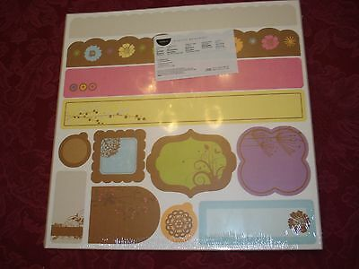 Creative Memories Simple Blooms Border Kit Nip