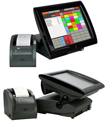 "Modern Register System Aures 38CM 15 "" Elo Touchscreen Printer Software BEREIT-1"