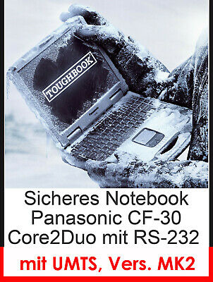 Panasonic Cf30 Cf-30 Mk2 Protection Impact Resistant Notebook Wifi Touch Screen
