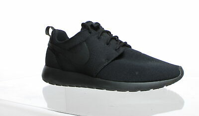 new product 02f88 393b1 Nike Womens Roshe One Black Black Dark Grey Running Shoes Size 11 (233886