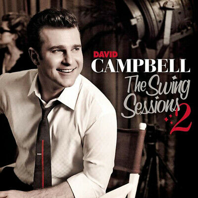 DAVID CAMPBELL - The Swing Sessions 2 CD *NEW* Gold Series