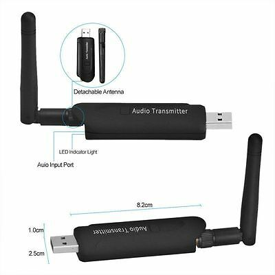 USB Bluetooth Wireless A2DP Audio Transmitter Stereo Adapter for TV PC DVD