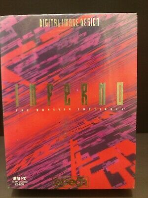 Vintage Inferno The Odyssey Continues PC Game Collector's Edition NEW AND SEALED