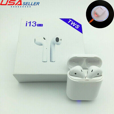 i13 TWS Bluetooth 5.0 Earphone Wireless Touch Control Earbuds i12 Upgraded IPX6