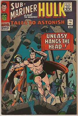 Tales To Astonish #76 Fn/vf 7.0