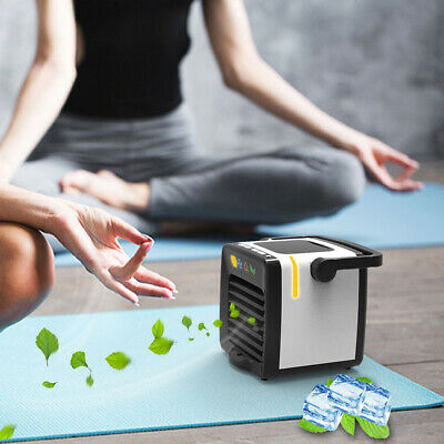 USB Portable Mini Air Conditioner Cooling For Bedroom Car Cooler Fan Humidifier