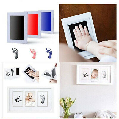 Baby Paw Print Pad Foot print Photo Frame Touch Ink Pad Baby Items Souvenir Gift