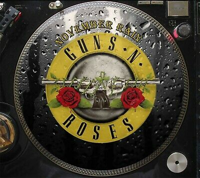 "Guns N' Roses – November Rain Rare 12"" Picture Disc LP (The Best Greatest Hits)"