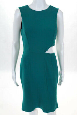 64ba64e5b8e Jay Godfrey Turquoise Caught In View Sheath Dress New  495 Size 6 10515056