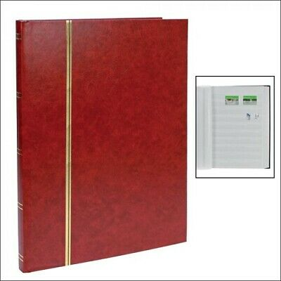 Safe Albums | Stamp-Book - Stockbook | White Pages | 20 Strips Per Page
