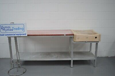 Butchers block and chopping table total 213cm long x 61cm d x 86cm high INC VAT