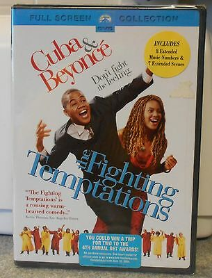 The Fighting Temptations (DVD 2004 Full Frame) RARE MUSICAL COMEDY BEYONCE NEW