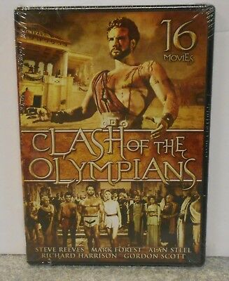 Clash of the Olympians (DVD, 2010, 4-Disc Set) RARE 16 MOVIE SET BRAND NEW