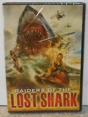 Raiders of the Lost Shark (DVD, 2015) RARE HORROR ACTION ADVENTURE BRAND NEW
